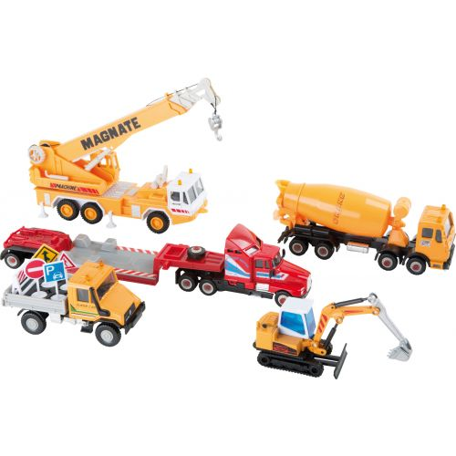 Vehículos en miniatura Obras - 11 piezas