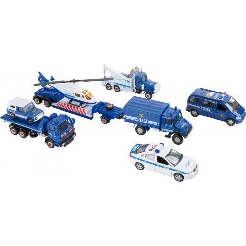 Vehículos en miniatura Policía