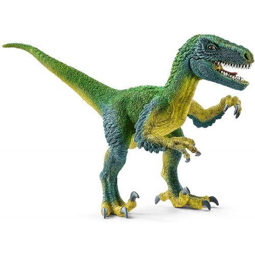 Figura Dinosaurio Velocirráptor color verde, 10.3 cm - Schleich