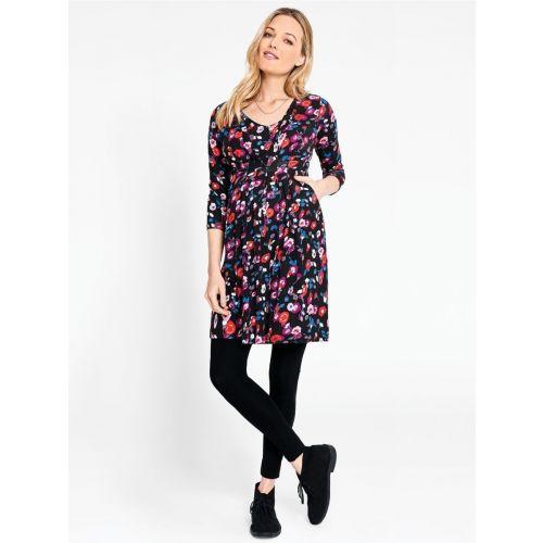 Vestido Túnica premamá y lactancia Floral Blurred