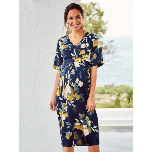 Vestido Premamá y Lactancia Navy Oriental