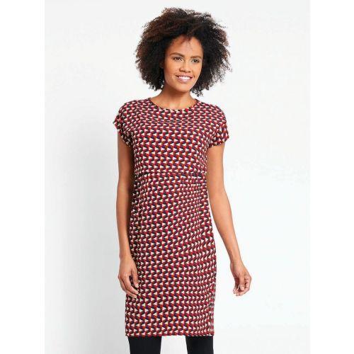Vestido Premamá y Lactancia Red Geo