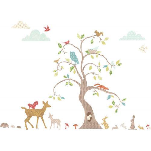 Vinilo Infantil El Bosque Encantado