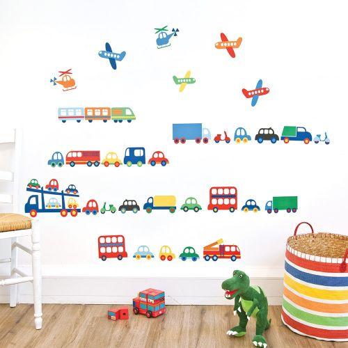 Vinilo Infantil Transportes
