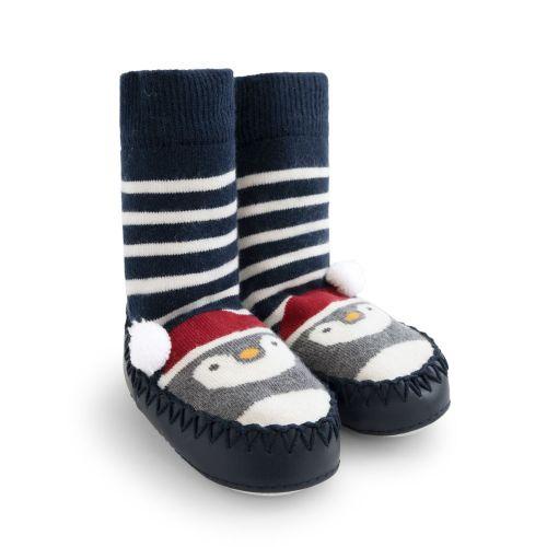 Zapatillas Calcetín para Niño Pingüino
