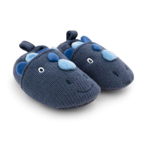 Zapatillas de Casa para Niño Dinosaurio Azul