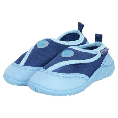 Zapatillas de Neopreno para Bebés y Niños Azules para piscina y playa