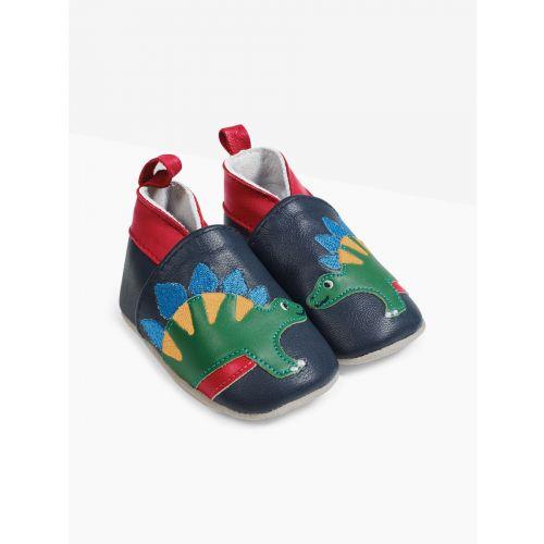 Zapatos de piel para Bebé Stegosaurus