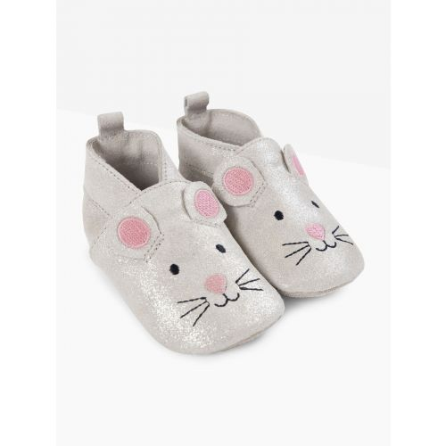 Zapatos de piel para Bebés Ratón
