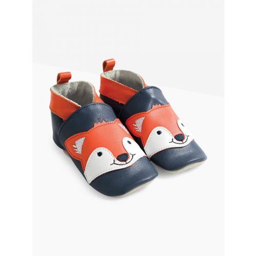 Zapatos de piel para Bebés Zorrito
