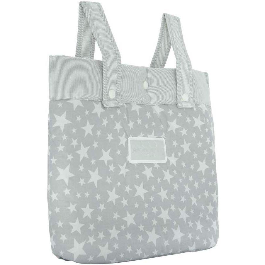 Cambrass Star Bolso maternal panadera para carro bebe color gris