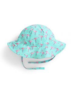 Sombrero Protección Bebé y Niña de flamencos
