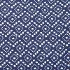 Vestido premamá y Lactancia largo con estampado azul batik